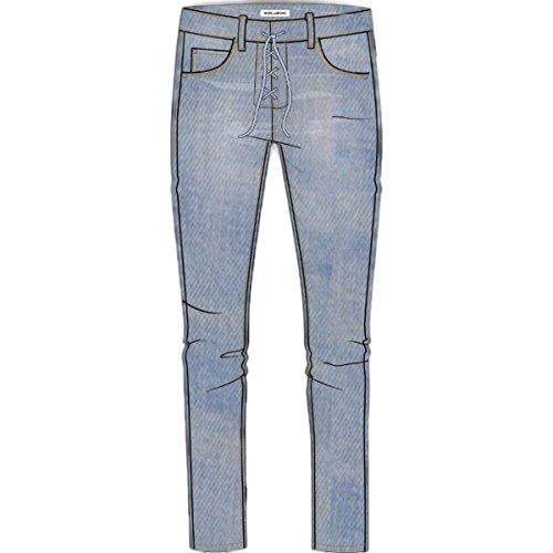 Billabong Womens Side by Side Indigo Pants 27 Blue Tide