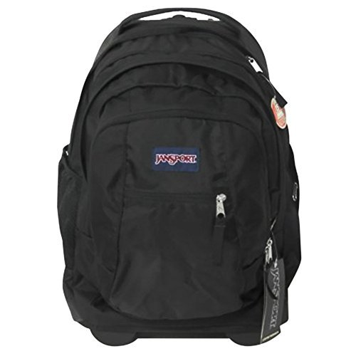 JanSport Driver 8 TN89 Wheeled Laptop Backpack (Black) by JanSport