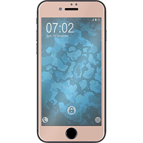 1 x Apple iPhone 7 / 8 Pellicola Protettiva Vetro Temperato chiaro full screen curved Rose Gold - PhoneNatic Pellicole Protettive