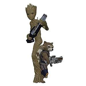 Hallmark Cards Groot and Rocket Xmas Keepsake Ornament