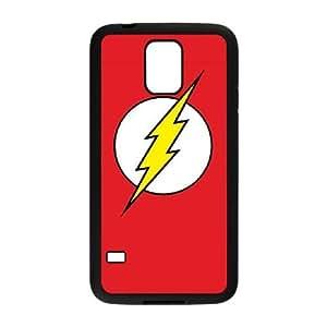 The Flash Emblem Samsung Galaxy S5 Cell Phone Case Black&Phone Accessory STC_018099