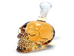 Crystal Skull Wine Bottle Wine Bottle Creative Decanter Wine Bottle Glass Whisky Decoration Decoration