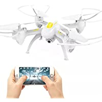OOFAY Drone with Camera X19 Remote Control Quadcopter Air Pressure Set High Aerial Drone WIFI Real-Time Transmission Of Helicopter Toys