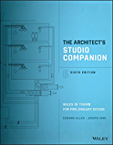 The Architect's Studio Companion.: Rules of Thumb for Preliminary Design