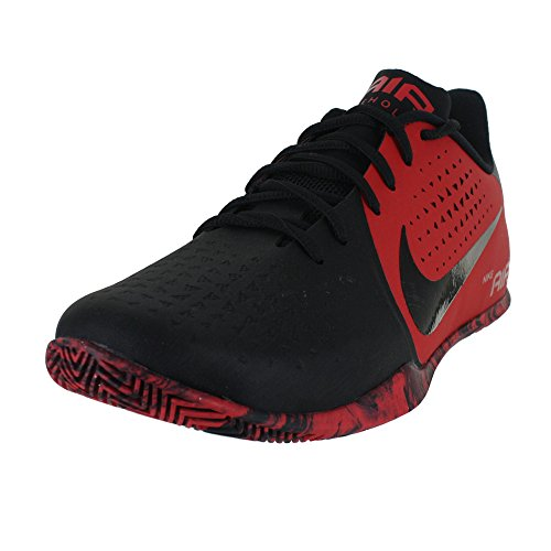 Black Red Low Men's Basketball Nike Behold Air Shoe University UwAxqa