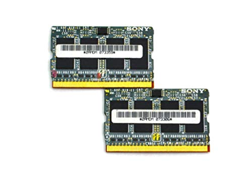 512MB 2X 256MB DDR-333MHz PC2700 MicroDIMM Laptop Memory Module Card Set 2AMDM 1-687-919-11 for Sony VAIO PCG-TR VGN-S VGN-T Series