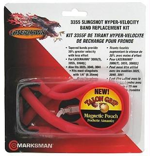 Marksman 3355 Slingshot Hyper-Velocity Band Replacement Kit - Tapered Slingshot