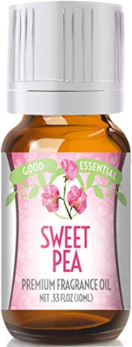 (Sweet Pea Scented Oil by Good Essential (Premium Grade Fragrance Oil) - Perfect for Aromatherapy, Soaps, Candles, Slime, Lotions, and More!)