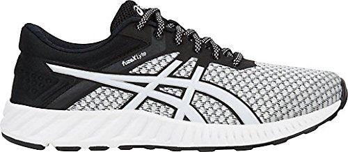Asics Women'S white silver Para Fuze Correr 2 black Zapatillas Lyte X fwnfIRq1r