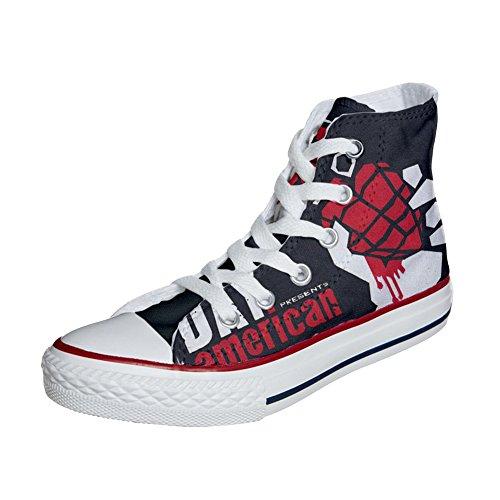 Converse All Star zapatos personalizados (Producto Artesano) America