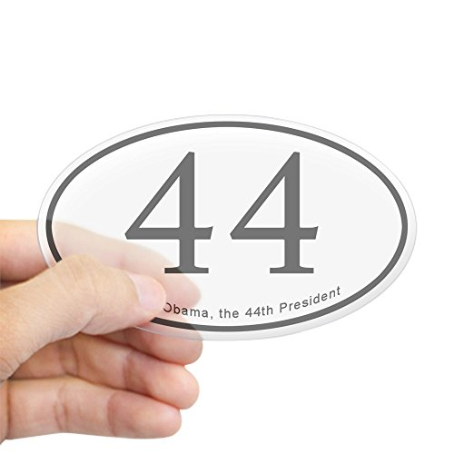 CafePress Barack Obama 44Th President Oval Sticker Oval Bumper Sticker, Euro Oval Car Decal