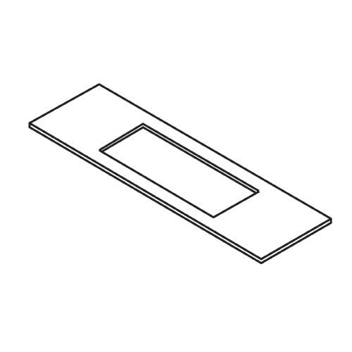 Trend - LOCK/JIG/A template 24mm x 235mm faceplate - WP-LOCK/A/T/2 by Trend