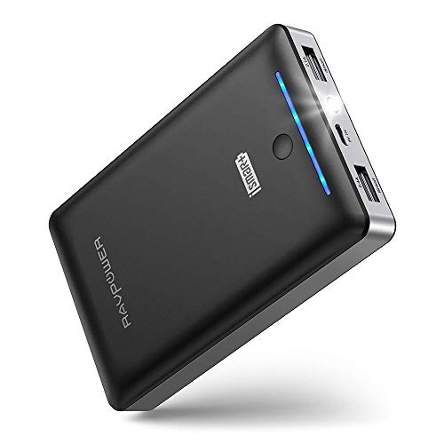 Upgraded Power Bank RAVPower 16750mAh Portable Charger Ultra-Compact External Battery Pack with 4.5A Max Output Phone…