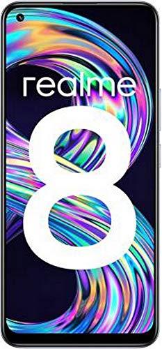 Realme 8 (Cyber Silver, 4GB RAM, 128GB Storage)