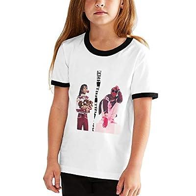 Tshirt for Women Teen Girls Juniors Short Sleeve Casual Tee Shirt Tops, Rae Sremmurd Music Band