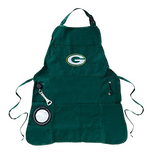Team Sports America Ultimate NFL Tailgate Grilling Apron, Green Bay Packers ()