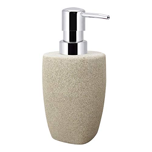 Allure Home Creations Ivory Stone Lotion Bottle,
