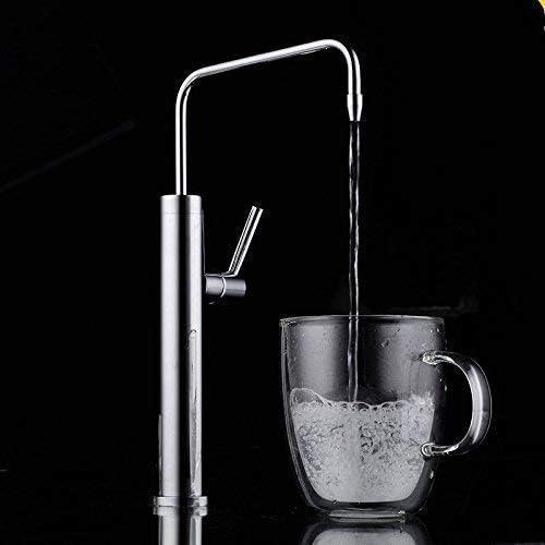 ZGQA-GQA バスルームのシンクのためのバスルームのシンクミキサータップ真鍮冷たい水タップ ミキサーシンク用の浴室キッチン盆地タップ