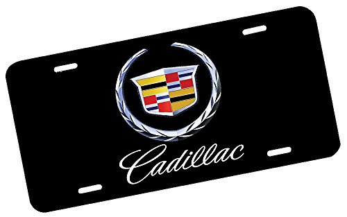 Cadillac License Plate