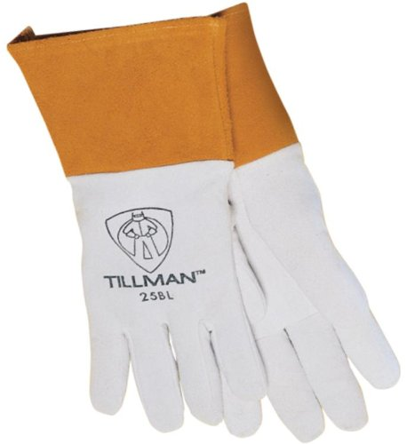 Tillman 25B Deerskin Split Leather TIG Welding Gloves - X-Large