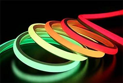 Tira LED RGB de neón flexible (5 m, 10 m, 15 m, 24 V, sin puntos de luz, 12 W/m, RGB LED), Neon Flex RGB 10Meter, lineare