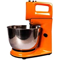 KT Trader DSP 5 Speed 300 W Stand Mixer with Rotating Bowl (Orange)