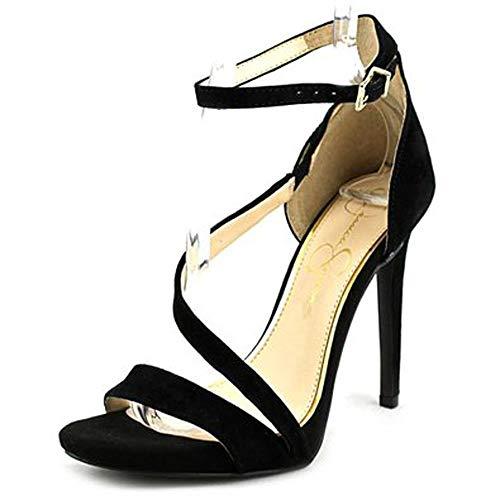 Jessica Simpson Rayli Women US 8 Black Sandals