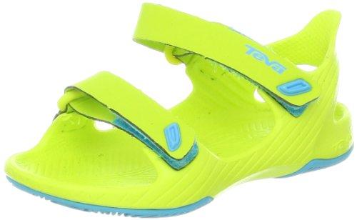 Teva Barracuda T's Water Sandal (Toddler/little Kid/Big Kid),Neon Lime,4 M US Toddler