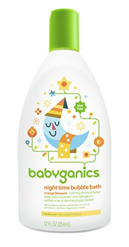 Babyganics Baby Bubble Bath, Orange Blossom, 12 Ounce