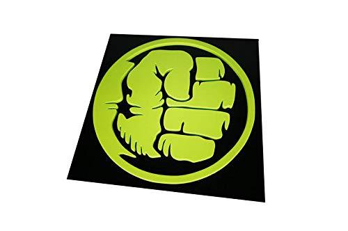 Quadro Decorativo Hulk 3D