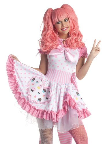 Harajuku Girl Sailor Moon Sexy Cosplay Fancy Dress Womens Halloween Costume S
