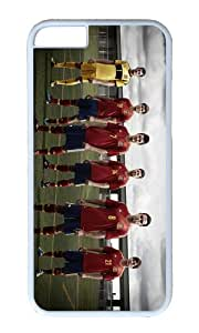 Spanish EURO 2012 PC White Hard Case for Apple iPhone 6(4.7 inch)