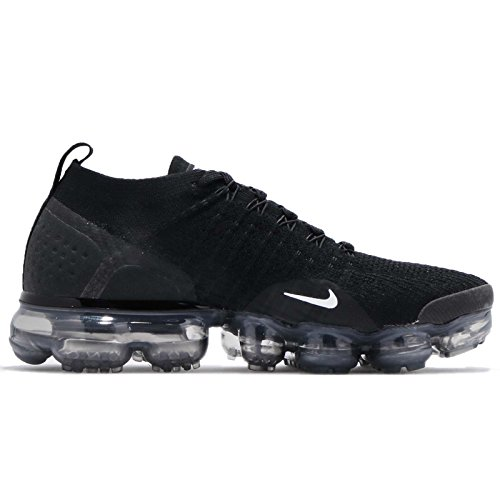 Flyknit 001 NIKE Grey Air Black Sneakers Metallic Dark 2 Silver Multicolore W Basses White Femme Vapormax qqagSTxtw