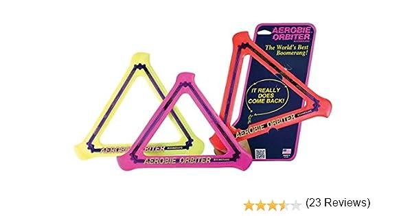 Aerobie - Orbiter Boomerang, juego de 3, el color puede variar ...