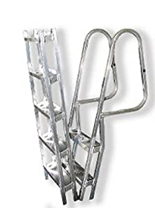 Amazon Com These Aluminum Hinged Dock Ladders Are