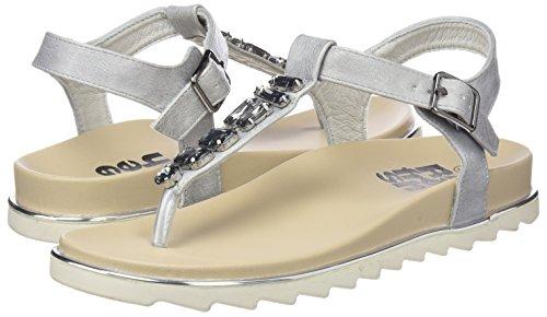 Sandales Argent Ouvert Bout 64303 Refresh silver Femme TxB15