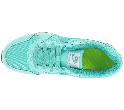 Nike Md Runner 2 (Gs), Zapatillas de Running para Mujer Turquesa (Hyper Turq / Clear Jade-Volt-White)