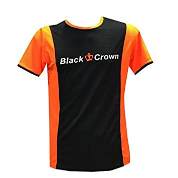 Camiseta Padel Black Crown Hombre Keep-Negro-M: Amazon.es ...