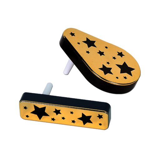 Beistle 80230-BKGD 20-Pack Plastic Metallic Noisemakers