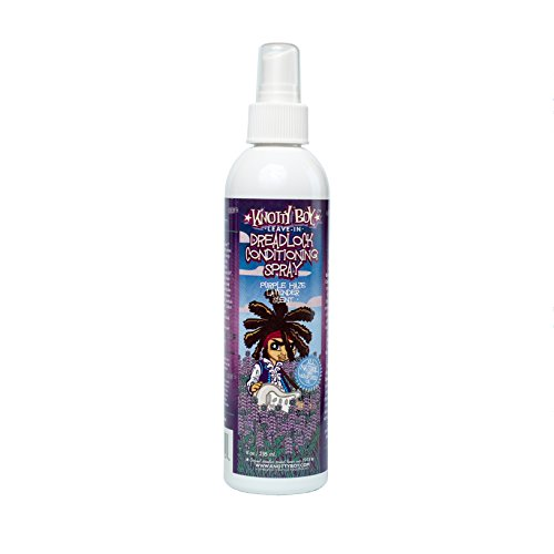 Knotty Boy Dreadlock Conditioning Spray Purple Haze Lavender (Boys Spray)