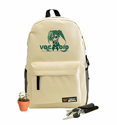 rare Schultertasche Tasche Shoulder Bag Rucksack reisetaschen Grün Nachdenklich Vocaloid new