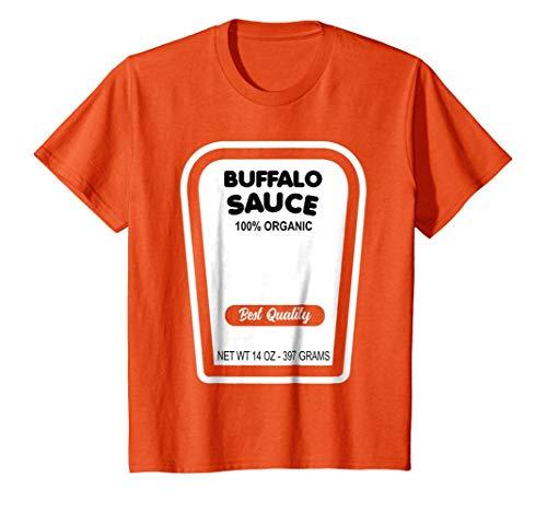Funny Buffalo Sauce Halloween Costume T-Shirt