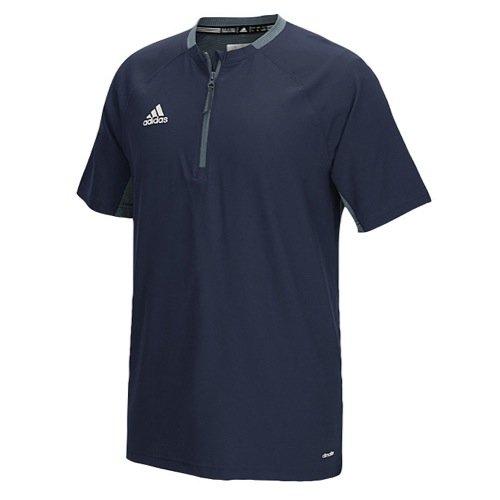 adidas Mens Fielder's Choice Cage Jacket, Collegiate Navy/Onix Grey, X-Small