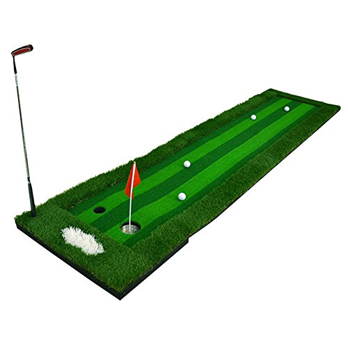 Indoor Golf Fairway   Greens Putt Exerciser   Home / Office Practice Blanket Simulation Four-color Grass   Multi-lane Design