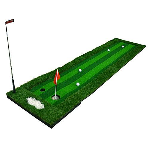 Indoor Golf Fairway  Greens Putt Exerciser  Home / Office Practice Blanket Simulation Four-color Grass  Multi-lane Design