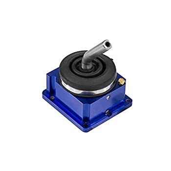 B&M 45195 Precision Sport Manual Trans Shifter Kit Use Stock Stick/Knob Incl. Aluminum Housing/Heavy Duty Detent Springs Billet Aluminum Blue Precision Sport Manual Trans Shifter Kit