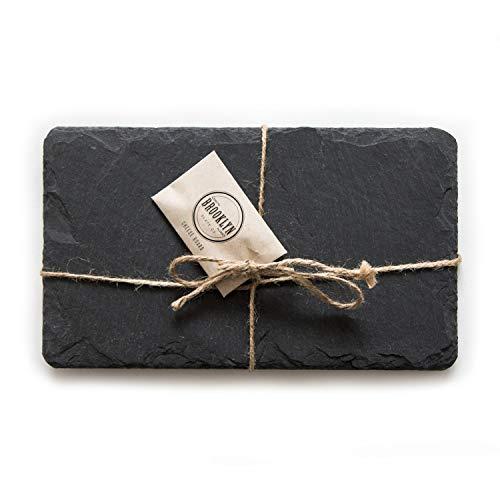 Brooklyn Slate Co. Slate Cheese Board (7x12, Black)