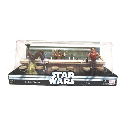 - Star Wars: Original Trilogy Collection > Mos Eisley Cantina w/ Dr. Evazen Wuher and Kitik Keedkak Action Figure Multi-pack
