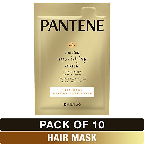 Pantene, Pro-V One Step Nourishing Hair Mask, Moisturize and Restore, 1.7 fl oz, 10 Count