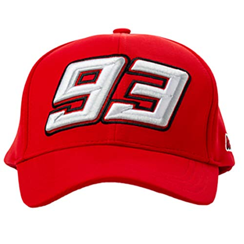 Marc Marquez 2019 93 MotoGP RED Trucker Style Baseball Cap Adult One Size